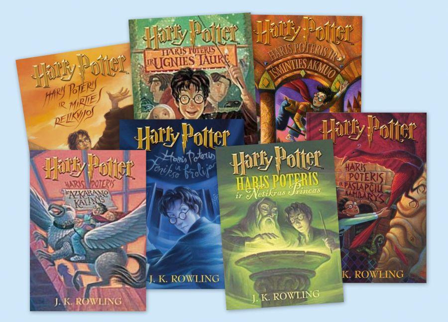 Knygos apie Harį Poterį lietuvių kalba