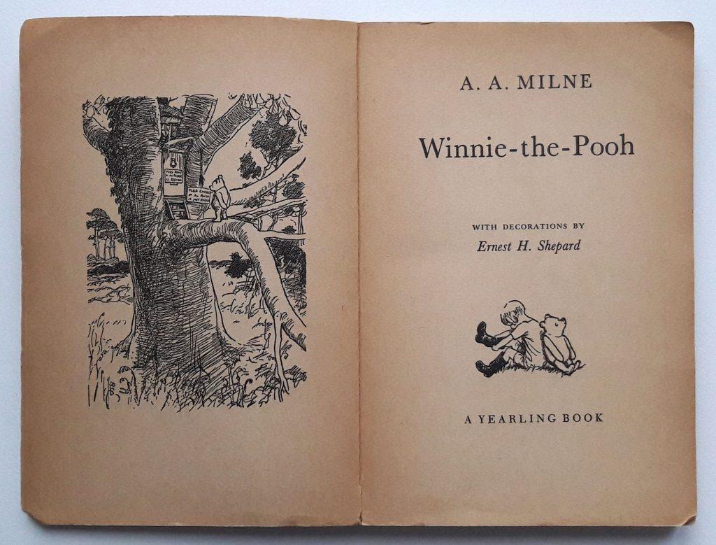 Winnie-the Pooh, Dell Publishing, NY, 1954