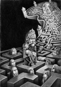 Andriaus Seselsko iliustr.
