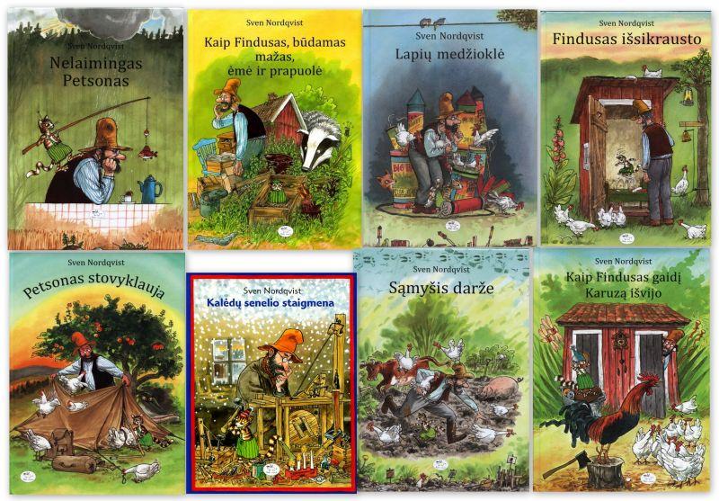 Sveno Nordqvisto knygos vaikams