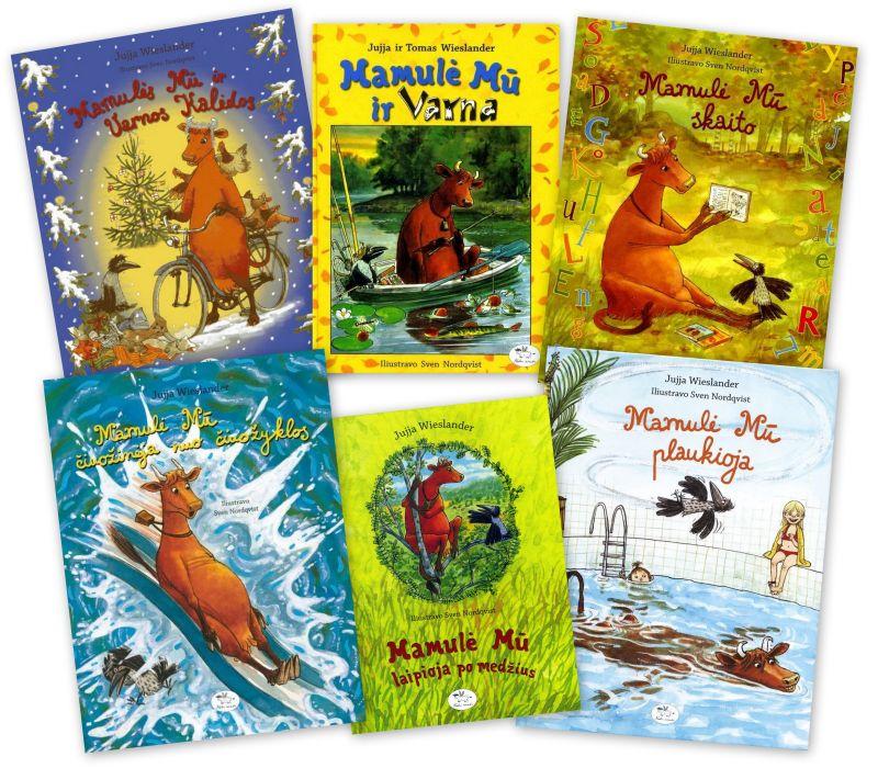Sveno Nordqvisto iliustruotos knygos