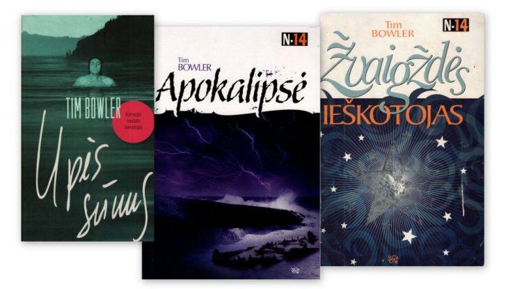 Tim Bowler knygos lietuvių kalba