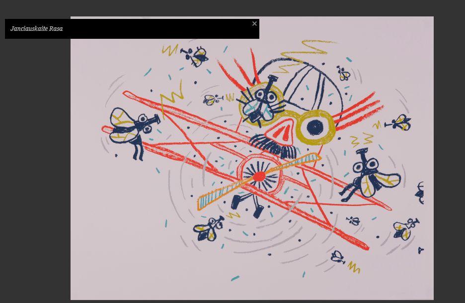 Rasos Jančiauskaitės iliustracija