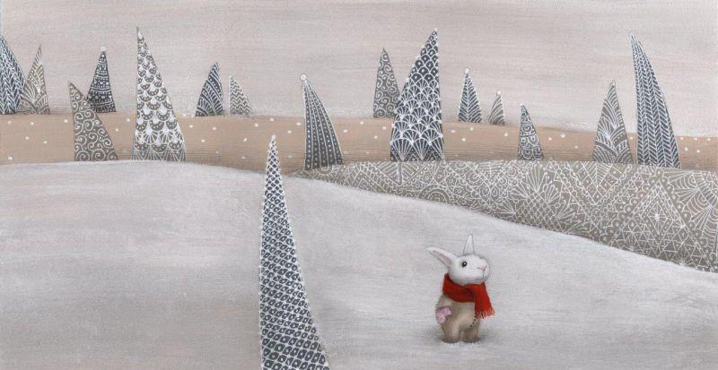 Catherine Zarip. Darjos Gerasimovos (Rusija) knygos Žiemos pasakos iliustr. (2011)