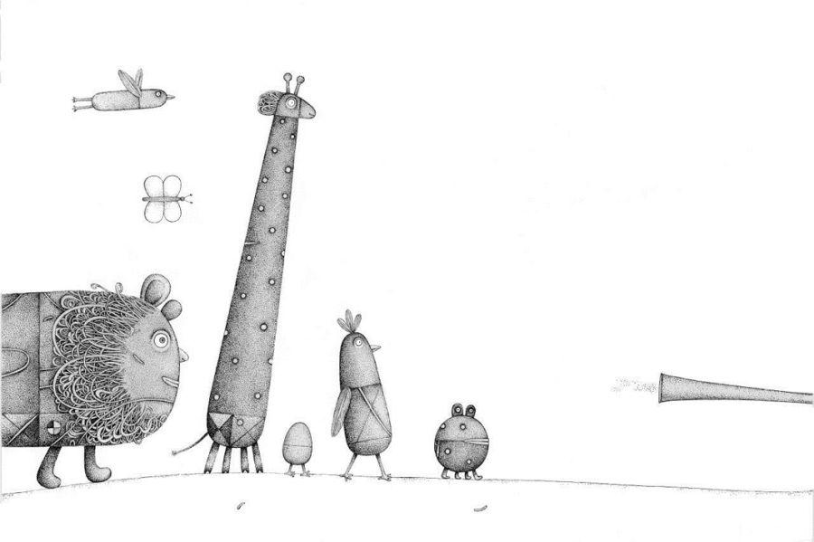Piret Raud. Trūūūtūūūtūū, arba Elės balsas (2016)