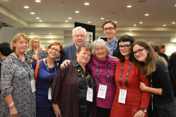 Lietuvių delegacija su K. Paterson