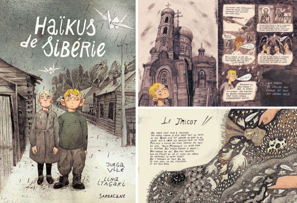 """""""Sibiro haiku"""" prancūziškasis leidimas"""