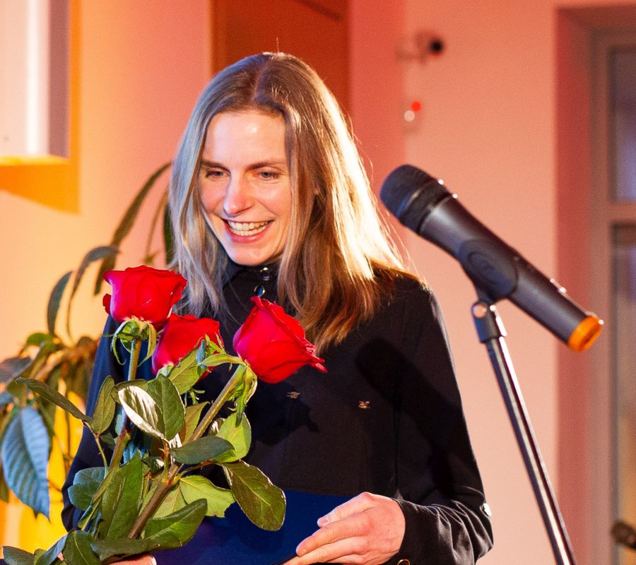 Iliustruotoja Inga Dagilė. Nuotr. © IBBY Lietuva