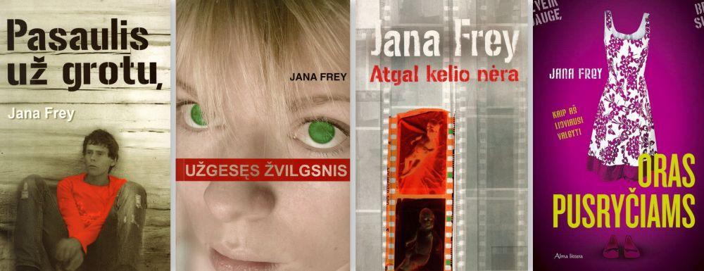 J. Frey knygos paaugliams ir jaunimui