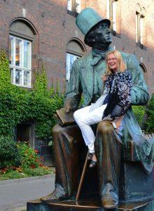 Monografijos apie H. Ch. Anderseną autorė Asta Gustaitienė Kopenhagoje