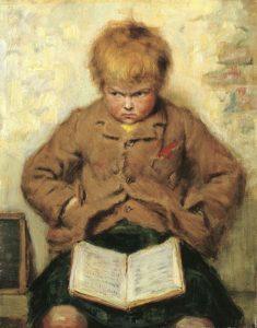 """John Watson Nicol  (1856–1926), """"Poveikis"""""""