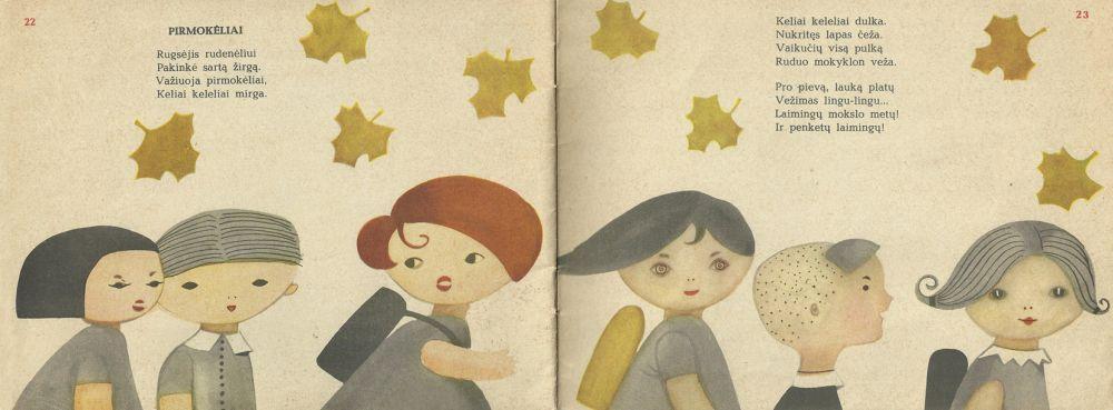 """Knygos """"Pupų pėdas"""" iliustracija (Čia ir kitur Rasos Dočkutės iliustr.)"""