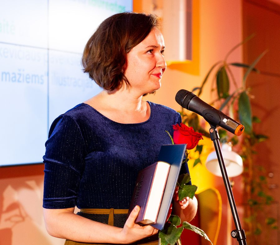 Rasa Jančiauskaitė. Nuotr. © IBBY Lietuva