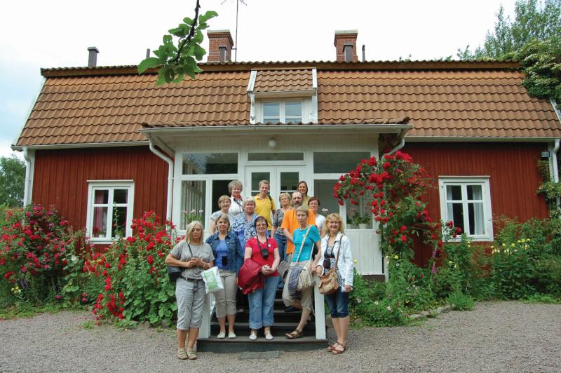 Prie A. Lindgren vaikystės namo