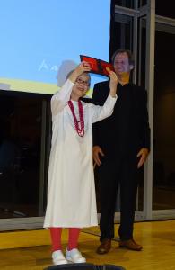 H. Ch. Anderseno medalio įteikimo ceremonija