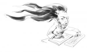Pasileidęs plaukus (Čia ir kitur Mariaus Zavadskio pieš.)
