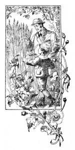 "Ch. von Schmido kn. ""Šimtas apsakymėlių"" iliustr. 1922 m."