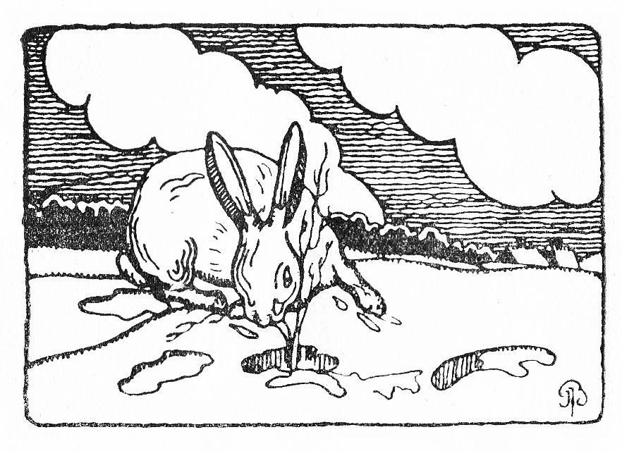"""""""Mikutis gamtininkas"""". 1926 m. Dail. Jonas Juozas Burba"""