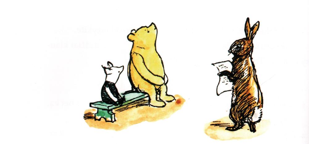 """Ernesto H. Šepardo iliustr. iš knygos """"Pūkuotuko pasaulis"""", 2018"""