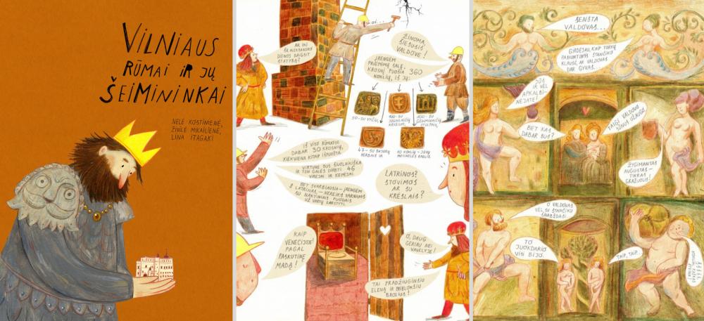 Linos Itagaki iliustracijos