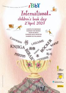 2020 m. Vaikų knygos dienos plakatas