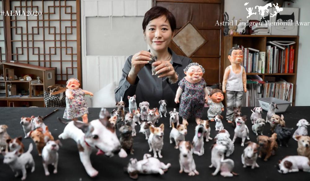 Paveikslėlių knygų kūrėja Baek Heena