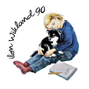 Ilonos Wikland 90-mečio logotipas. ©Design Ilon Wikland AB