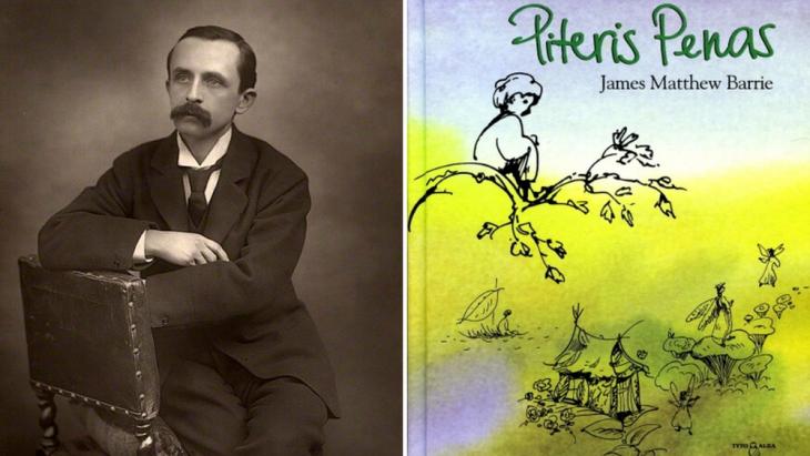 Jamesas Matthew Barrie'is, 1892 m.
