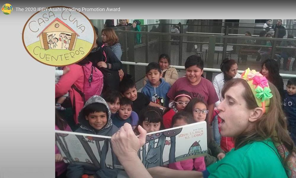 IBBY-Asahi skaitymo skatinimo apdovanojimas skirtas Casa Cuna Cuenteros savanorių grupei iš Argentinos
