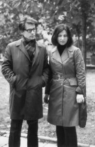 Sigutė Valiuvienė ir Vytautas Valius (1976 m.)