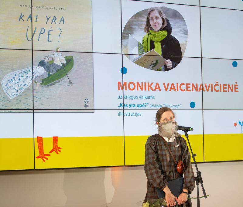 Monika Vaicenavičienė. Nuotr. Justino Kygos