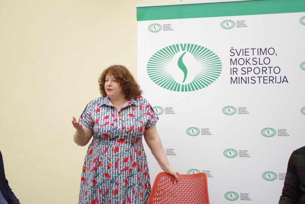 Rašytoja Neringa Vaitkutė. Nuotr. Renatos Česnavičienės