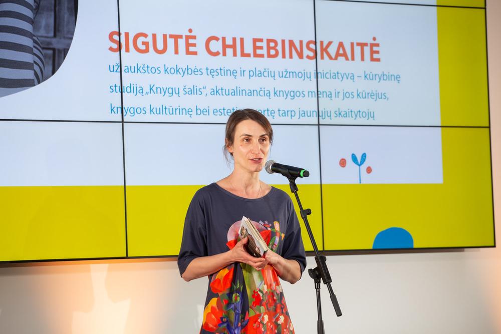 Sigutė Chlebinskaitė . Nuotr. autorius Justinas Kyga