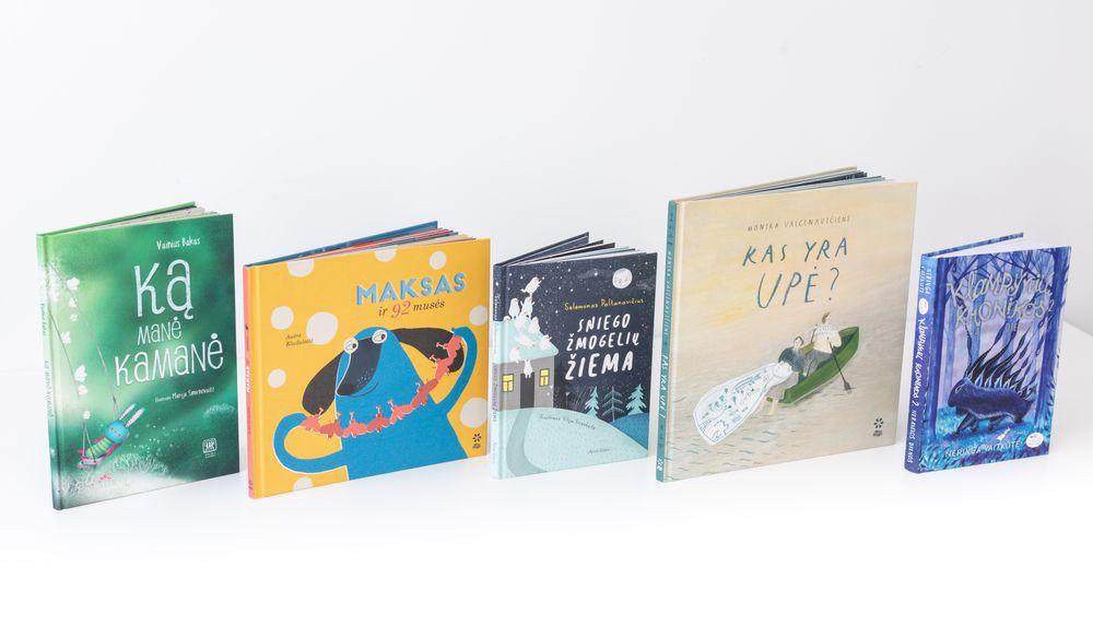 """Akcijos """"Metų knygos rinkimai 2020"""" knygų vaikams penketukas. Nuotr. Vygaudo Juozaičio"""