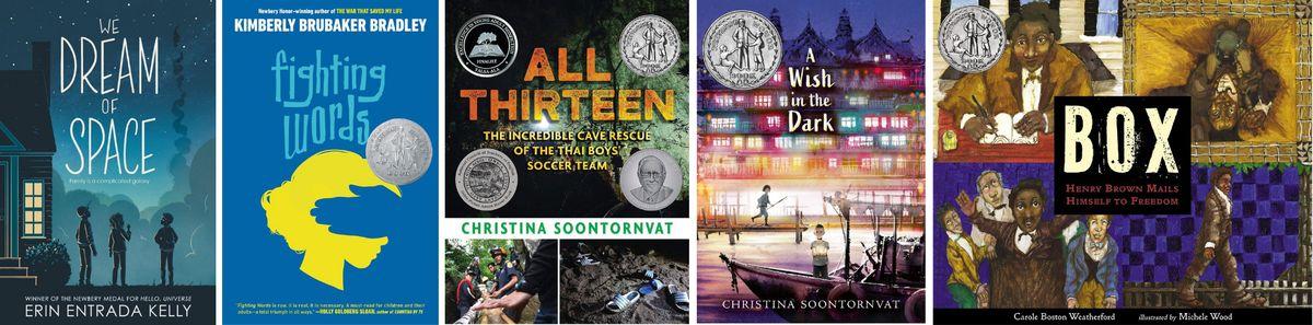 Knygos, patekę į 2021 m. Niuberio medalio Garbės sąrašą