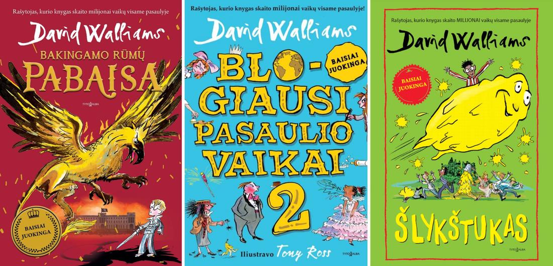 Davido Walliamso knygos