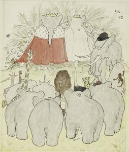 Jeano de Brunhoffo iliustr. Iliustr. šaltinis Wikipedia