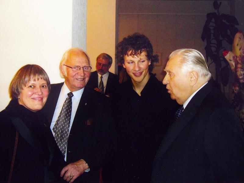 Marytė Markevičienė, Petras Juodelė, Martynas Levickis,  Saulius Sondeckis. 2006 m.
