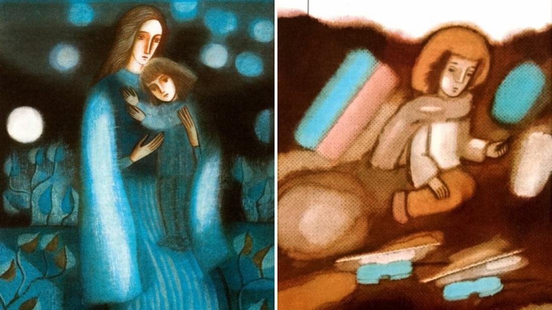 Sigutės Valiuvienės iliustr. Iliustracijos iš asmeninio šeimos archyvo